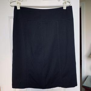 White House Black Market Black Pencil skirt NWT